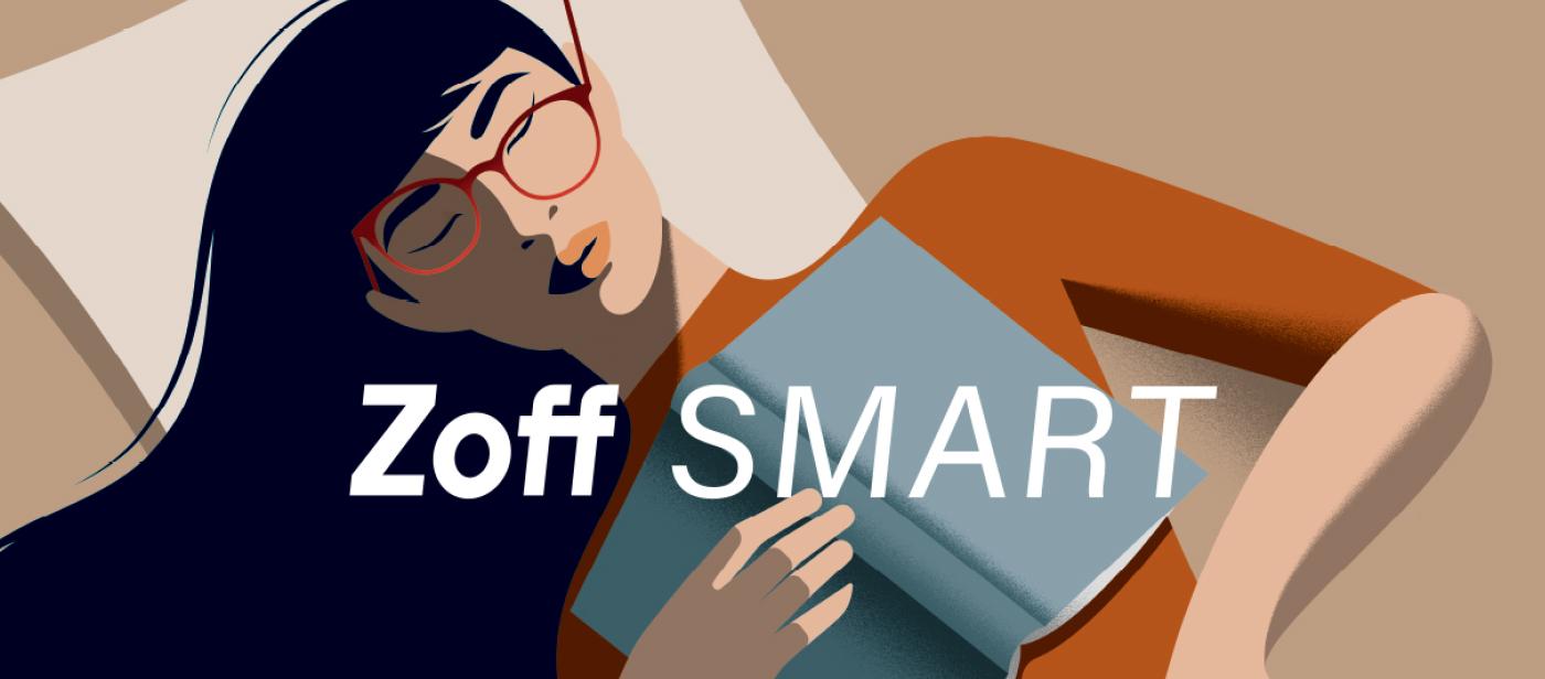 Zoff_SMART Eyeglasses Eyewear Glasses Spectacles ULTEM Light Tough Durable