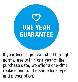 1 year guarantee