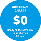additional charge