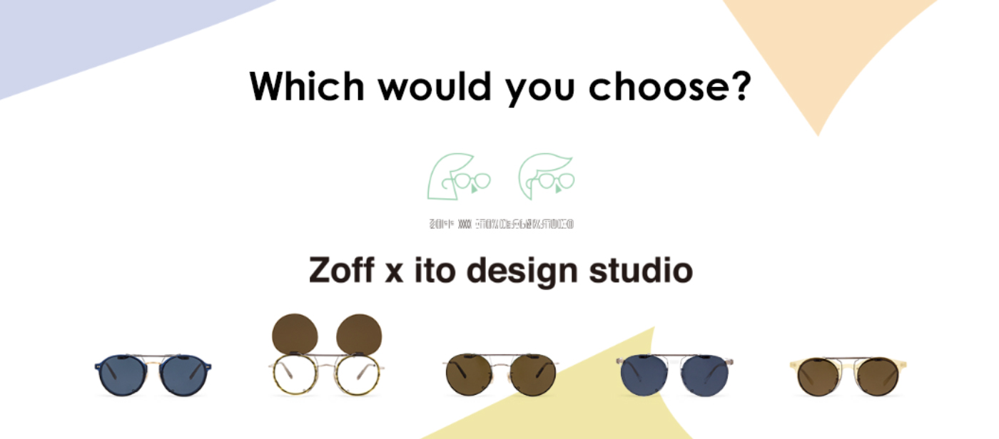 Zoff x ito design studio main Banner