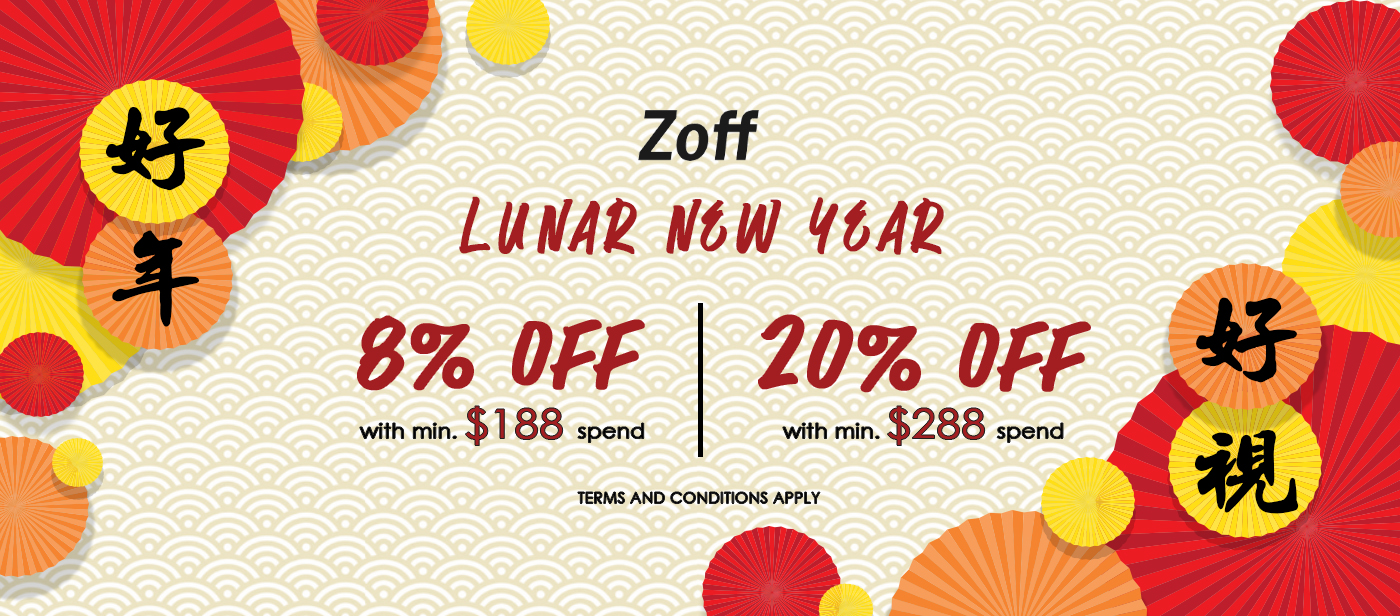 Chinese New Year_Up to 20% off, Eyewear, Glasses, Spectacles, Sunglasses