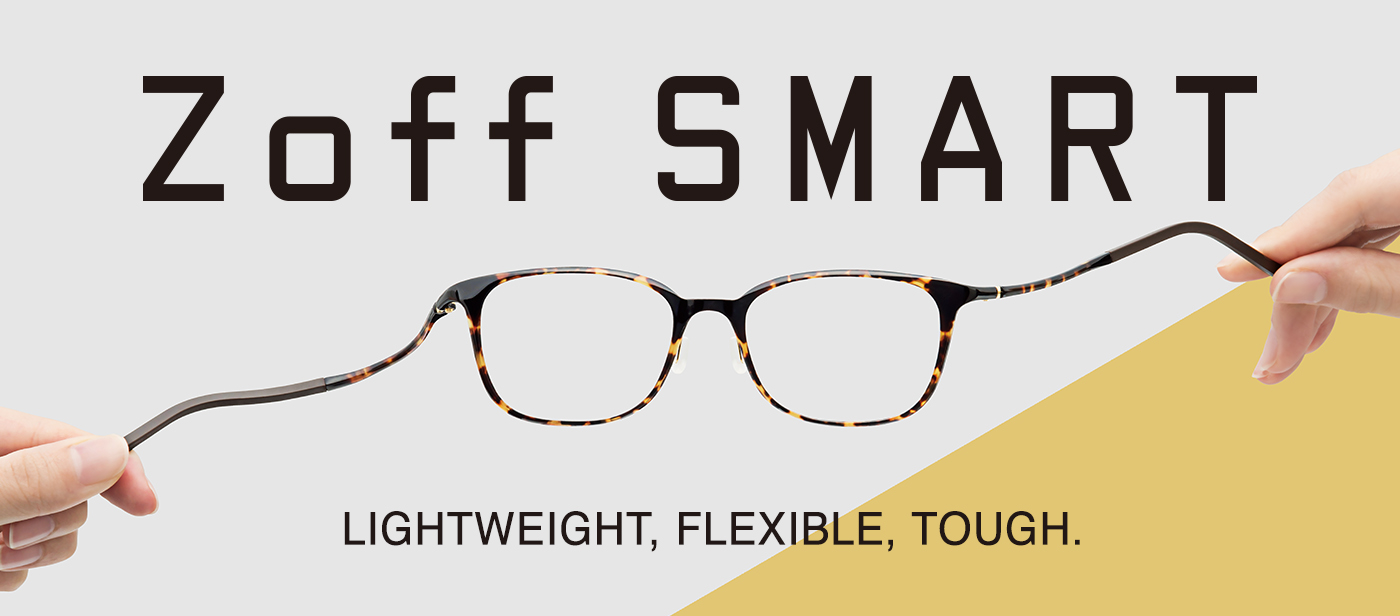 Zoff SMART Collection 2019 Eyewear Glasses Light Flexible Tough
