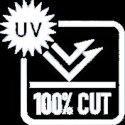 UV100%カット
